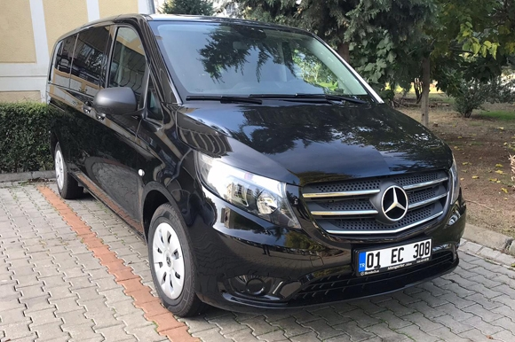 adana mercedes vito standart rent a car dis
